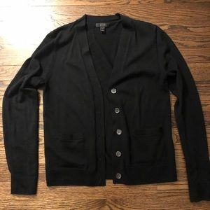 Black jcrew cardigan